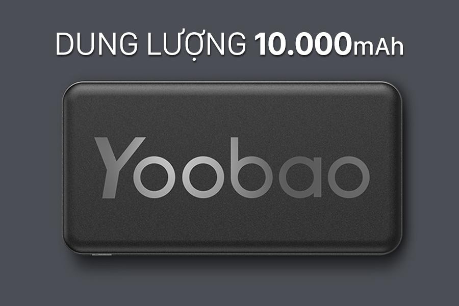 Sạc dự phòng Yoobao P10T 10000mAh