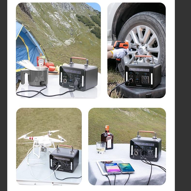 Trạm sạc dự phòng Yoobao EN1000 270000mAh PD60W 220V/1000W
