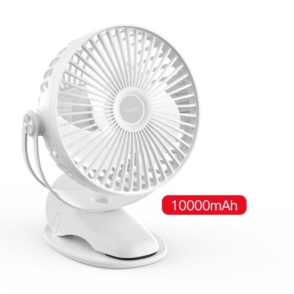 Quạt tích điện mini chân kẹp Yoobao F04 MAX 10000mAh