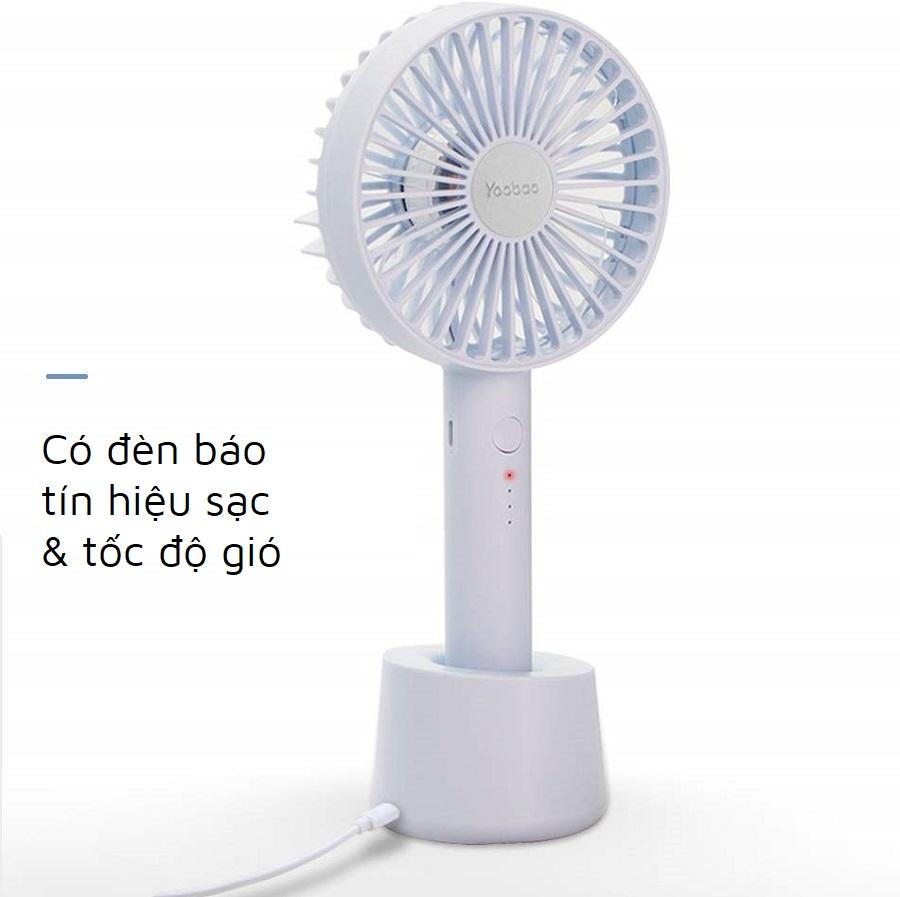 Quạt tích điện mini Yoobao F02
