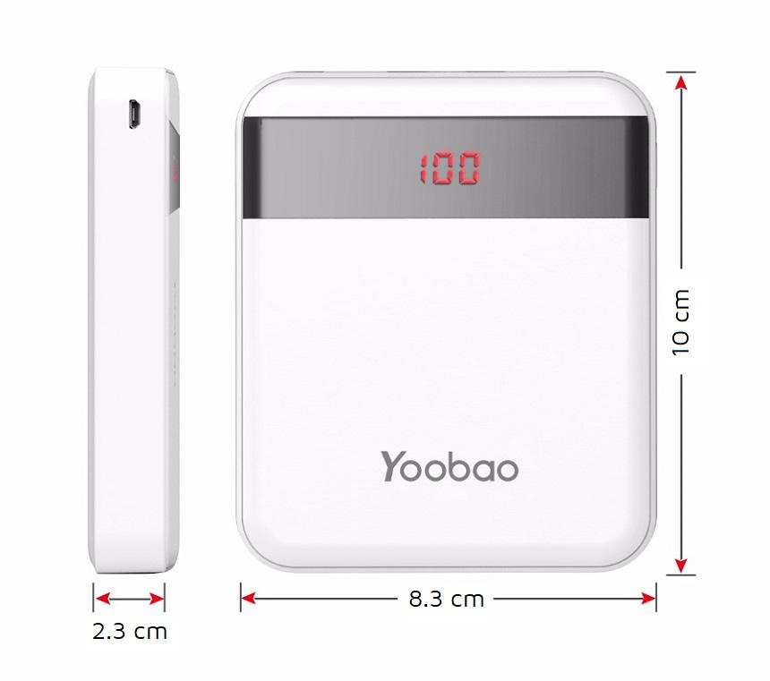 Sạc dự phòng Yoobao M4Pro 10000mAh