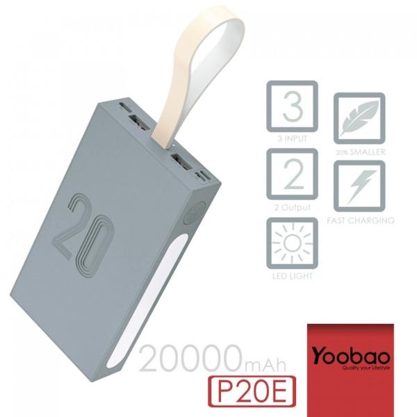 Sạc dự phòng Yoobao P20E 20000mAh