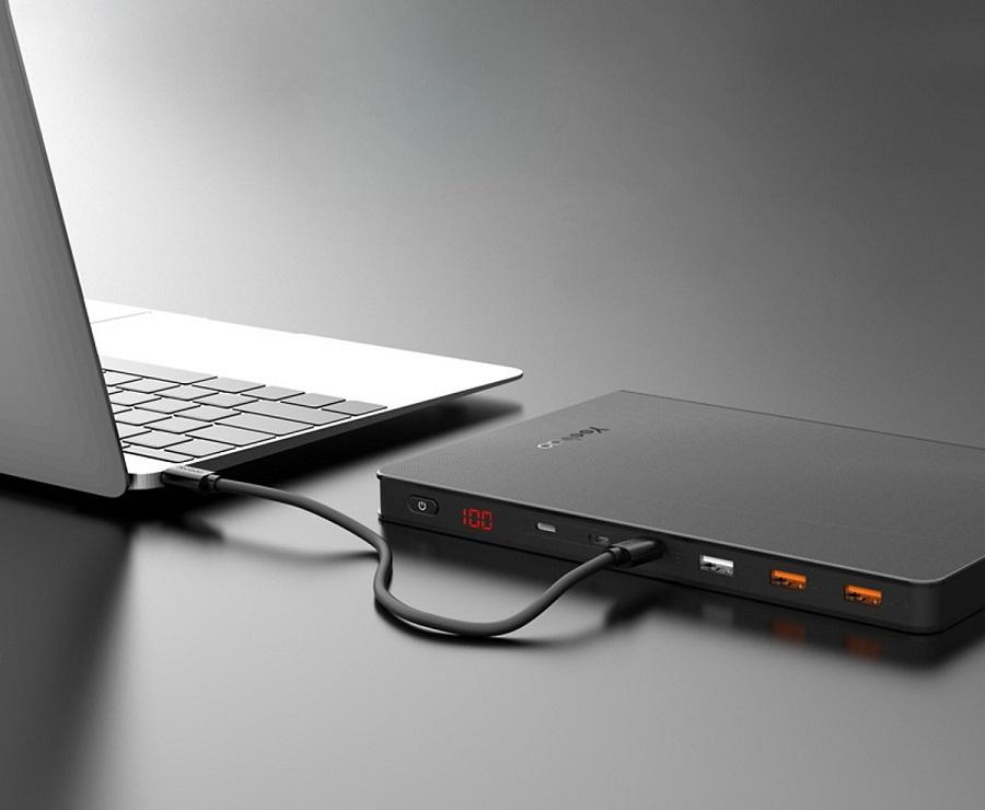 Sạc dự phòng Yoobao 30Book 30000mAh PD3.0 chính hãng