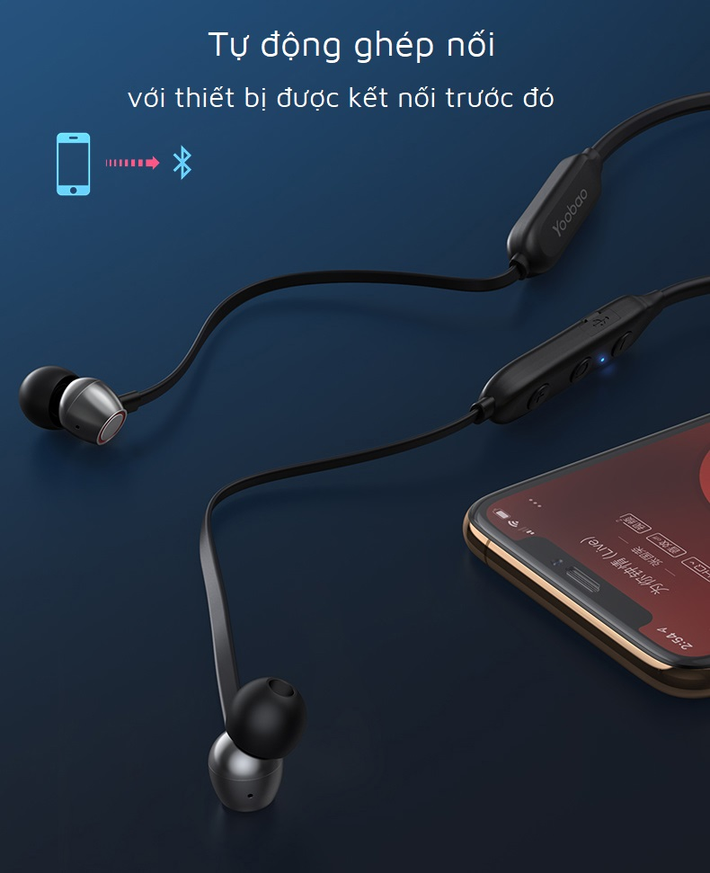 Tai nghe bluetooth TWS Yoobao YB-504