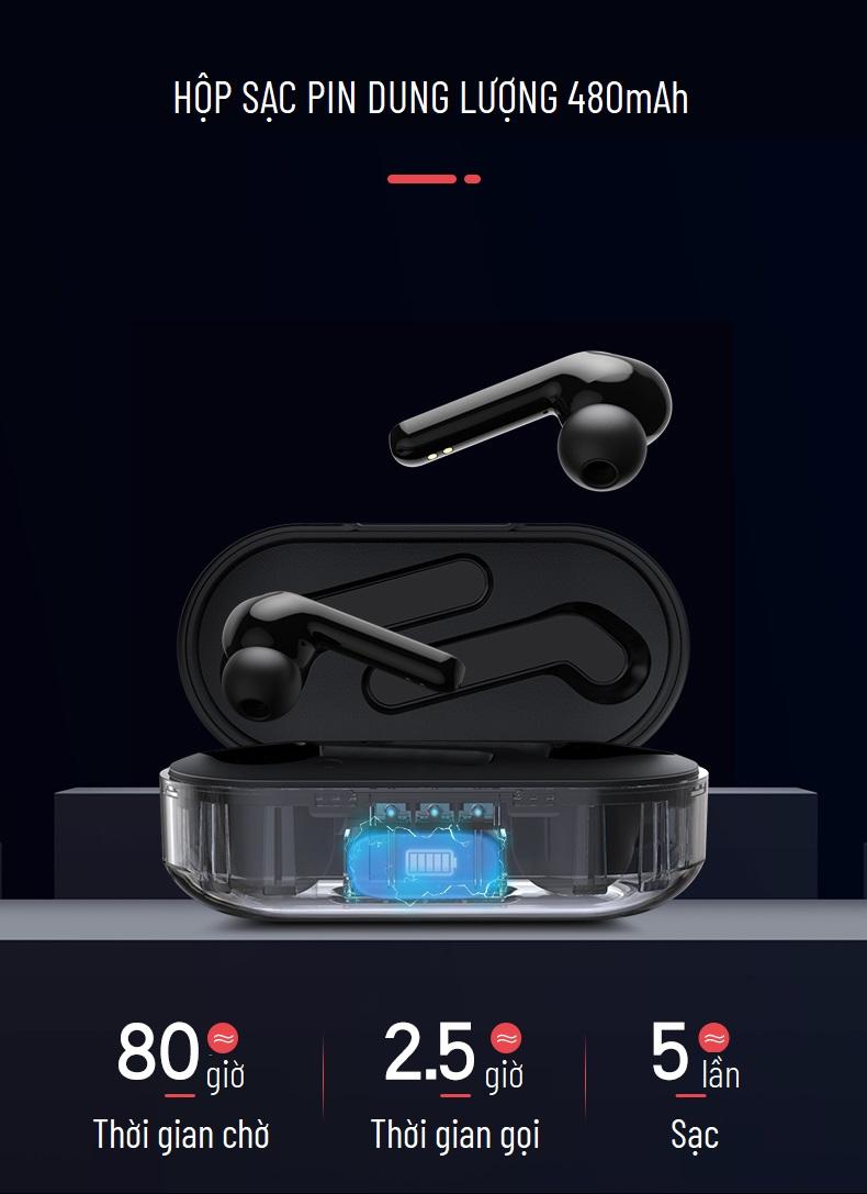 Tai nghe bluetooth TWS Yoobao YB-505