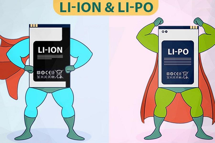 Pin Li-Ion và pin Li-Polymer, loại nào tốt hơn?