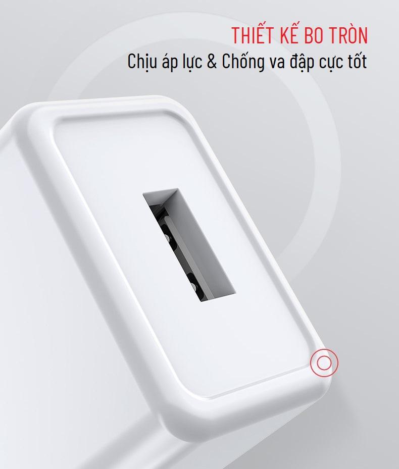 Adapter sạc 1 cổng Yoobao Y-725A 2.1A