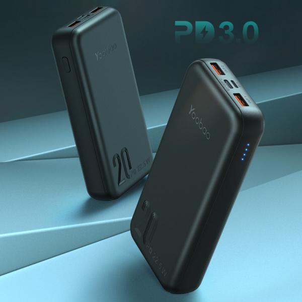 Sạc dự phòng Yoobao S8P Mini 20000mAh PD3.0