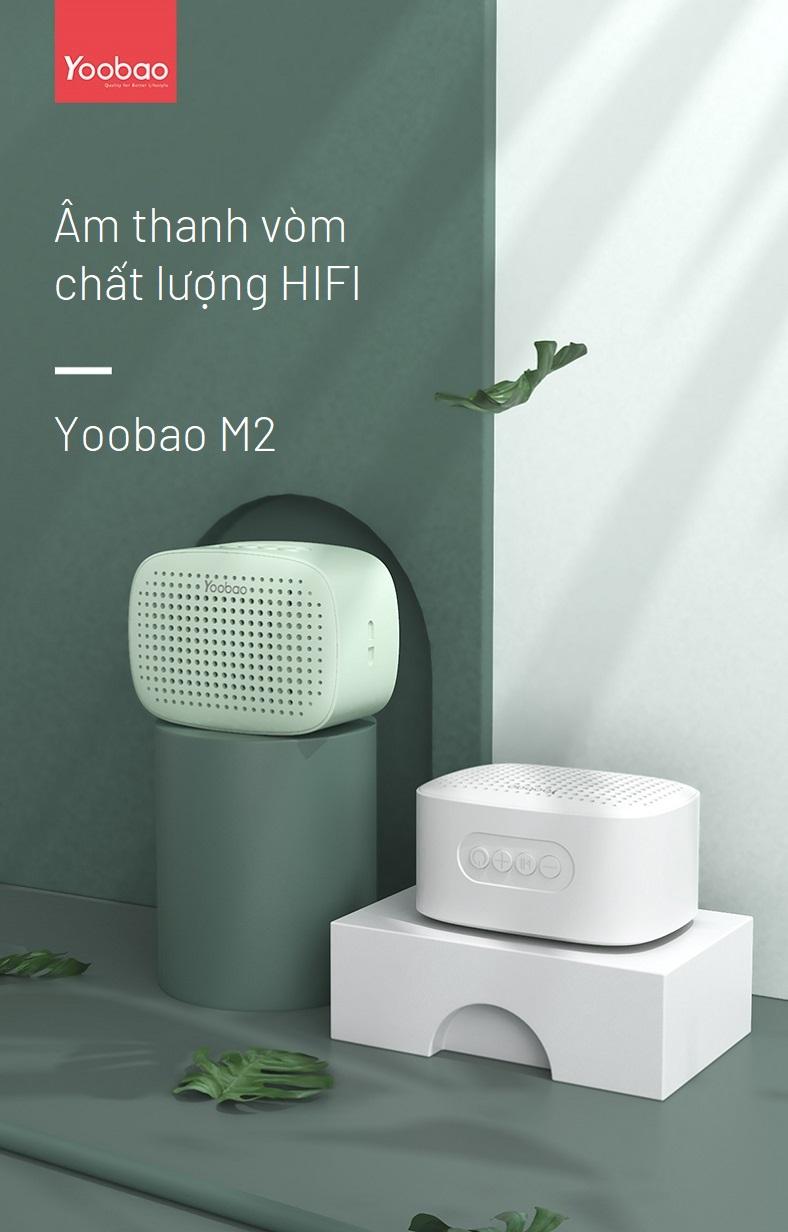 Loa bluetooth mini Yoobao M2