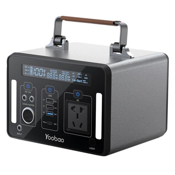 Trạm sạc dự phòng Yoobao EN500 135200mAh PD60W 220V/500W