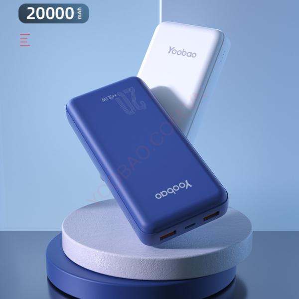 Sạc dự phòng Yoobao D20Q 20000mAh PD3.0