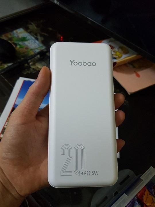 Sạc dự phòng 20000mAh Yoobao D20Q