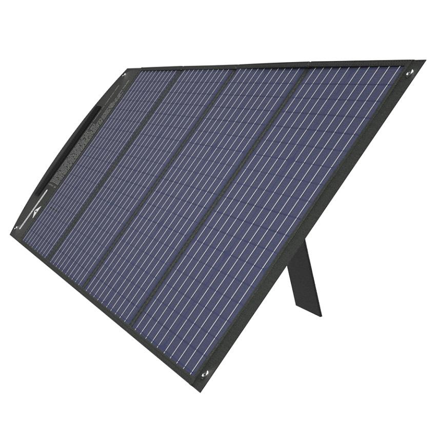 Tấm pin năng lượng mặt trời 100W loại mono có thể gấp gọn