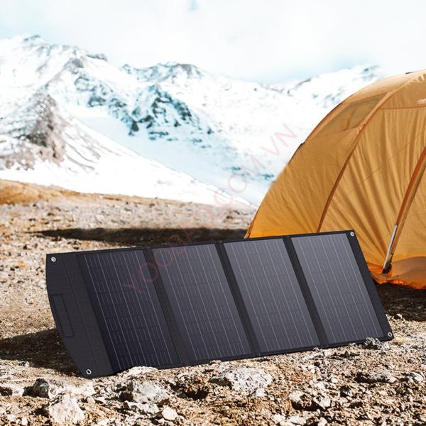 Tấm pin năng lượng mặt trời Mono 120W gấp gọn